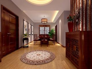 规整新中式两居室欣赏餐厅餐桌