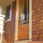 美式入室玻璃木门