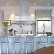 与森林呼应的现代风格欣赏厨房