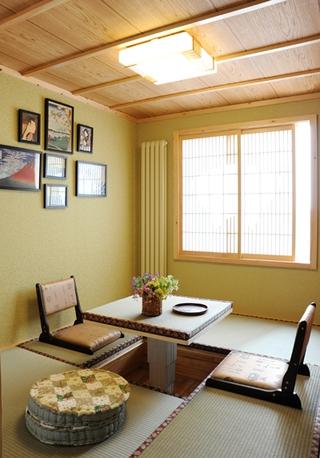 温馨田园风格住宅欣赏茶室