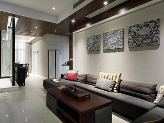 都是现代白领住宅欣赏客厅
