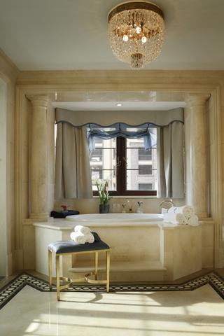 130平奢华新古典样板间欣赏卫生间