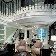 现代风格别墅套图客厅效果设计