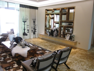 现代风雅致两居室欣赏
