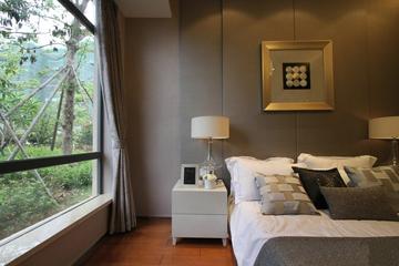 77平简约两居住宅欣赏卧室飘窗