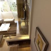 107平简约三居室设计欣赏客厅隔断