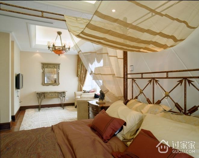 欧式风格效果套图卧室家具陈设
