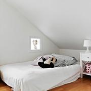 99平经典简约装修住宅欣赏卧室效果