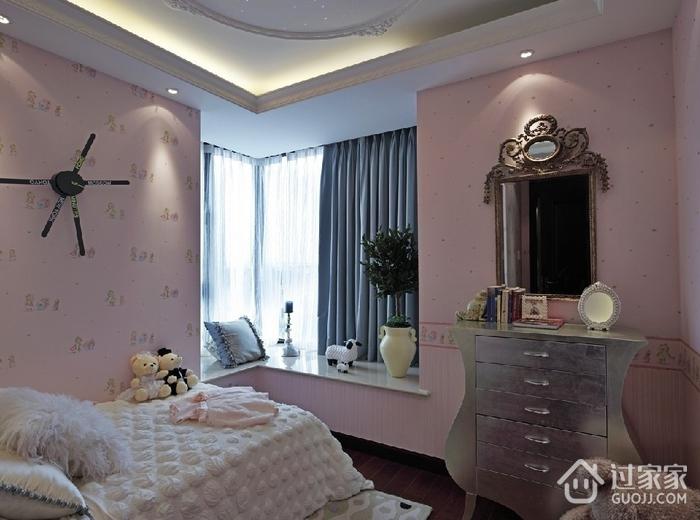 奢华新古典风格欣赏儿童房飘窗