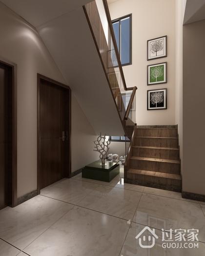 简约舒适三居欣赏楼梯