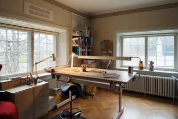 多彩北欧三居室欣赏书房窗户