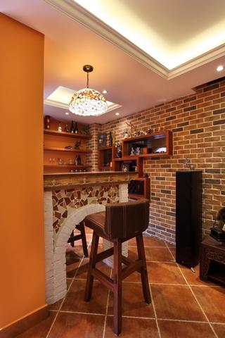 125平简欧舒适住宅欣赏客厅局部