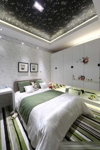 创意有个性 现代卧室吊顶设计