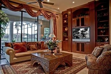 美式风格室内装修图家庭厅