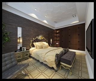 法式风格设计样板房赏析卧室