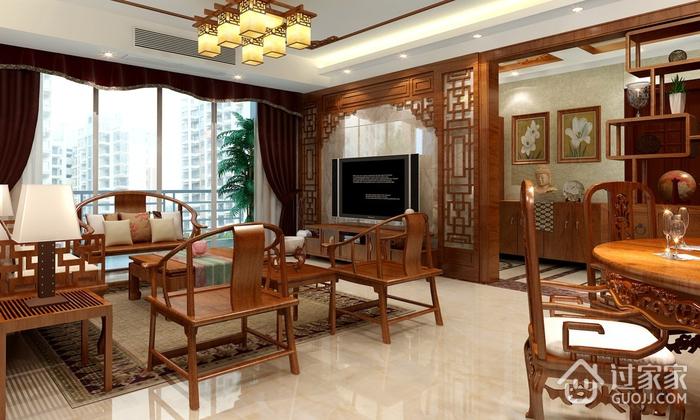 110平雅致中式住宅欣赏