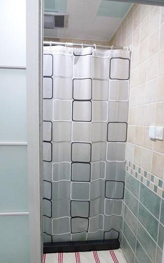 47平简约一居欣赏卫生间隐形门