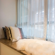舒适温暖休闲区 宜家卧室飘窗设计效果图
