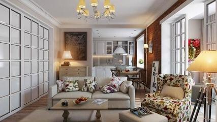 66平温馨美式住宅欣赏