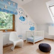 素静纯色简约两居室欣赏儿童房