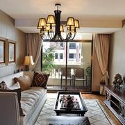 打造美剧场景的住宅欣赏客厅