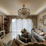 欧式客厅灯饰装饰效果图 浪漫家居