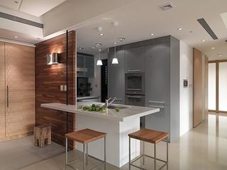 简约住宅空间效果图赏析厨房