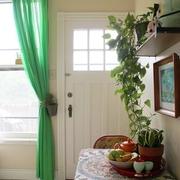 清新混搭 客厅绿植装饰图