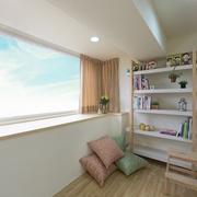 93平优雅日式风格欣赏卧室效果