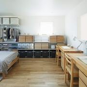 112平日式风格住宅欣赏卧室全景