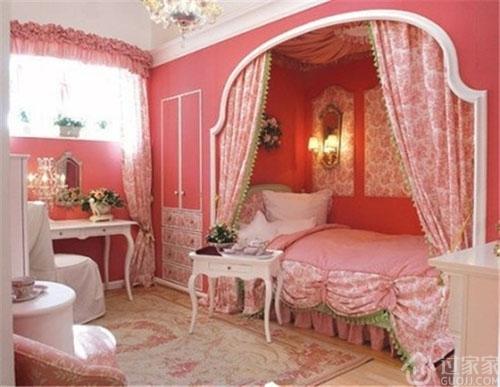 看完这些桃粉色硅藻泥卧室背景墙,感觉仿佛刚刚在爱丽丝的仙境里走了