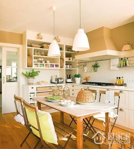 吃货的经验 如何打造食欲大增的厨房餐厅空间