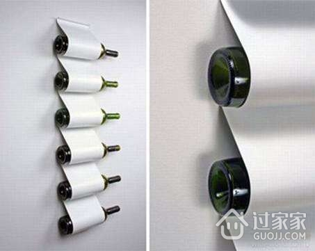 四款葡萄酒架创意设计 品味与艺术共存