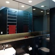 现代风格效果图卫生间效果
