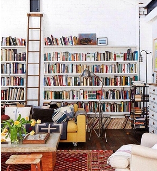 墙面书柜设计技巧 你的专属图书馆