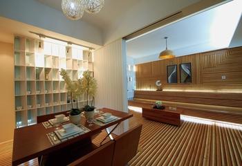 温馨简约风住宅欣赏餐厅设计