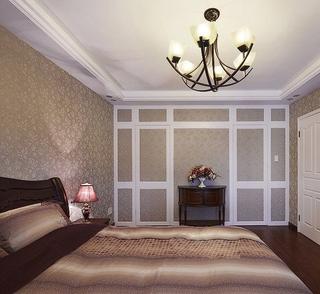 卧室灯饰装修效果图 时尚混搭风