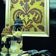 新古典风设计图餐厅挂画