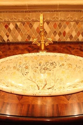 美式别墅装饰欣赏洗手台