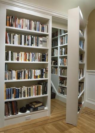 现代别墅装饰效果图欣赏书架