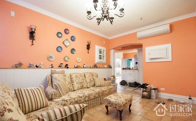 80平简约小三居欣赏客厅设计