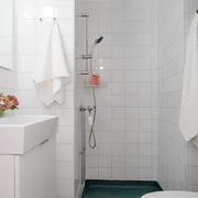 36平白色宜家住宅欣赏卫生间陈设