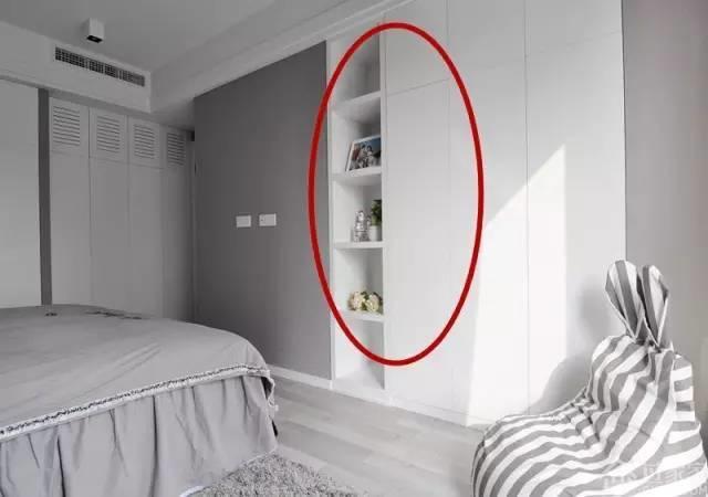 89㎡三室一厅简约风格装修案例,电视背景墙都是一面橱柜