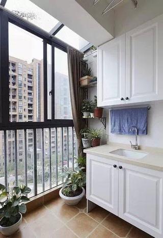 77平简约精美两居室欣赏阳台窗户