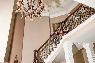 法式装饰别墅设计套图楼梯