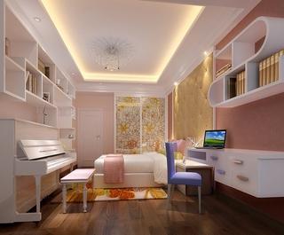简约风格三居效果图案例欣赏儿童房