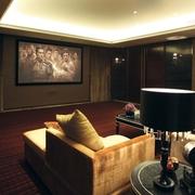 欧式风格设计影音室