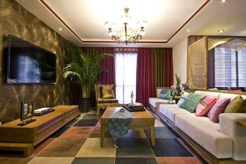 东南亚两居室效果图