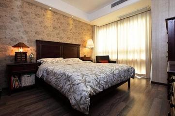 中西混搭住宅欣赏卧室