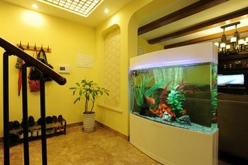 入户玄关鱼缸